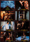 """Movie Posters:Horror, Fright Night (Columbia, 1985). Uncut German Lobby Card Set of 16 (8.5"""" X 11.5""""). Horror.. ... (Total: 16 Items)"""