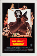 "Movie Posters:James Bond, On Her Majesty's Secret Service (United Artists, 1970). One Sheet(27"" X 41"") Style A. James Bond.. ..."