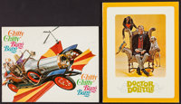 """Chitty Chitty Bang Bang & Other Lot (United Artists, 1969). Programs (2) (Multiple Pages, 8.5"""" X 11"""")..."""