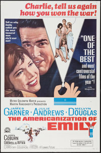 "The Americanization of Emily (MGM, 1964). One Sheet (27"" X 41"") & Lobby Card Set of 8 (11"" X 14""..."