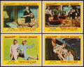 "Movie Posters:Comedy, Some Like It Hot (United Artists, 1959). Lobby Cards (4) (11"" X14""). Comedy.. ... (Total: 4 Items)"