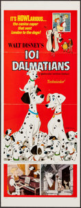 "Movie Posters:Animation, 101 Dalmatians (Buena Vista, R-1969). Insert (14"" X 36""). Animation.. ..."