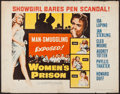 "Movie Posters:Bad Girl, Women's Prison (Columbia, 1955). Half Sheet (22"" X 28""). Bad Girl.. ..."
