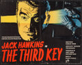 "Movie Posters:Mystery, The Third Key (Rank, 1957). Full Bleed British Half Sheet (22"" X28""). Mystery.. ..."