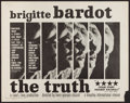 """Movie Posters:Foreign, The Truth (Kingsley International, 1960). Half Sheet (22"""" X 28""""). Foreign.. ..."""