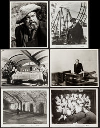 "Orson Welles in Citizen Kane & Others Lot (RKO, R-1956). Reprint Photos (6) (8"" X 10""). Miscellaneous..."