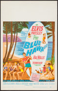 "Movie Posters:Elvis Presley, Blue Hawaii (Paramount, 1961). Window Card (14"" X 22""). ElvisPresley.. ..."