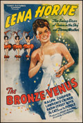 """Movie Posters:Black Films, The Bronze Venus (Toddy Pictures, R-1943). One Sheet (27"""" X 41""""). Black Films.. ..."""