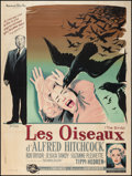 """Movie Posters:Hitchcock, The Birds (Universal, 1963). French Grande (47"""" X 63""""). Hitchcock....."""