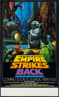 """Movie Posters:Science Fiction, The Empire Strikes Back (National Public Radio, 1982). NPR Poster(17"""" X 28"""") Advance. Science Fiction.. ..."""