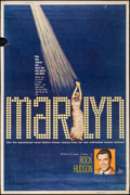 "Movie Posters:Documentary, Marilyn (20th Century Fox, 1963). Poster (40"" X 60"") Style Z. Documentary.. ..."