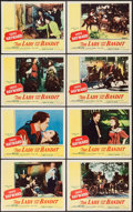 "Movie Posters:Adventure, The Lady and the Bandit and Others Lot (Columbia, 1951). Lobby CardSets of 8 (2), Title Lobby Card, Lobby Card (11"" X 14""),... (Total:19 Items)"