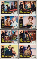 "Movie Posters:Mystery, The Saint's Girl Friday (RKO, 1954). Lobby Card Set of 8 (11"" X14""). Mystery.. ... (Total: 8 Items)"