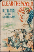 "Movie Posters:War, World War I Propaganda Poster by Howard Chandler Christy(Department of the Treasury, 1918). Bond Poster (20"" X 30"") ""Cl..."