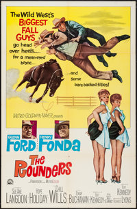 """The Rounders & Others Lot (MGM, 1965). One Sheets (64) (27"""" X 41""""). Comedy. ... (Total: 64 Items)"""