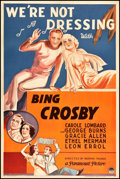 "Movie Posters:Comedy, We're Not Dressing (Paramount, 1934). One Sheet (27"" X 41"").Comedy.. ..."