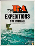 """Movie Posters:Documentary, The Ra Expeditions (Interwest, 1972). Posters (4) (30"""" X 40"""") & Programs (2) (8 Pages, 8.5"""" X 10.75""""). Documentary.. ... (Total: 6 Items)"""