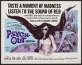 "Movie Posters:Exploitation, Psych-Out (American International, 1968). Half Sheet (22"" X 28"").Exploitation.. ..."