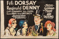 "Movie Posters:Musical Comedy, Those Three French Girls (MGM, 1930). Partial Three Sheet (41"" X27""). Musical Comedy.. ..."
