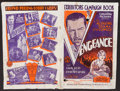 "Movie Posters:Adventure, Vengeance (Columbia, 1930). Uncut Pressbooks (2) (Multiple Pages,11.5"" X 16"" & 12"" X 18.5""). Adventure.. ... (Total: 2 Items)"