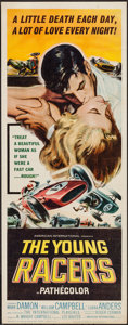 "Movie Posters:Action, The Young Racers (American International, 1963). Insert (14"" X36""). Action.. ..."