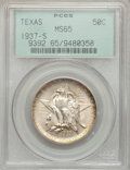 Commemorative Silver: , 1937-S 50C Texas MS65 PCGS. PCGS Population (630/546). NGC Census:(445/553). Mintage: 6,637. Numismedia Wsl. Price for pro...