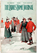 Books:Periodicals, The Ladies' Home Journal, March 1900. Philadelphia: CurtisPublishing, [1900]. Folio. Publisher's printed wrappers. Fron...