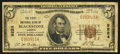 National Bank Notes:Virginia, Blackstone, VA - $5 1929 Ty. 1 The First NB Ch. # 9224. ...