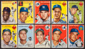 Baseball Cards:Lots, 1954 Topps Baseball Collection (116) With Mays, Williams, Berra,Plus Others. ...