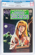 Bronze Age (1970-1979):Horror, House of Secrets #92 (DC, 1971) CGC VF- 7.5 Cream to off-whitepages....