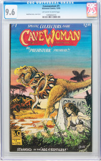 Cavewoman #1 (Basement Comics, 1993) CGC NM+ 9.6 Off-white to white pages