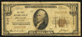National Bank Notes:Oklahoma, Prague, OK - $10 1929 Ty. 1 The First NB Ch. # 7177. ...