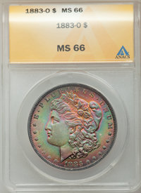 1883-O $1 MS66 ANACS. NGC Census: (980/34). PCGS Population (702/35). Mintage: 8,725,000. Numismedia Wsl. Price for prob...