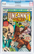 Bronze Age (1970-1979):Horror, Uncanny Tales #1 (Marvel, 1973) CGC NM 9.4 Off-white to whitepages....