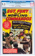 Silver Age (1956-1969):War, Sgt. Fury and His Howling Commandos #7 (Marvel, 1964) CGC NM- 9.2 Off-white to white pages....