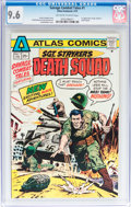 Bronze Age (1970-1979):War, Savage Combat Tales #1 (Atlas-Seaboard, 1975) CGC NM+ 9.6 Off-white to white pages....