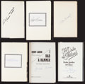 Baseball Collectibles:Publications, Baseball Greats Signed Hardcover Books Lot of 6....