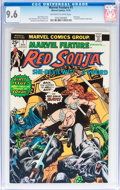 Bronze Age (1970-1979):Adventure, Marvel Feature (2nd Series) #1 Red Sonja (Marvel, 1975) CGC NM+ 9.6 Off-white to white pages....