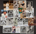 Autographs:Photos, Baseball Greats Signed Photographs Lot Of 21....