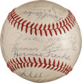 Baseball Collectibles:Balls, 1968 San Francisco Giants Team Signed Baseball (24 Signatures)....
