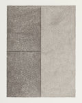 Post-War & Contemporary:Contemporary, CHRISTOPHER WILMARTH (American, 1943-1987). Clearing for aStanding Man #5, 1973. Pencil and watercolor on paper.13-1/2...