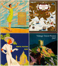 "Miscellaneous:Catalogs, Group of Four Catalogs for Vintage Travel Posters. Issued by HenrySotheran Ltd. 2007-2010. 8.25"" x 9.5"". Full color. Fine c...(Total: 4 Items)"