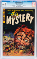 Golden Age (1938-1955):Horror, Mister Mystery #11 (Aragon, 1953) CGC FN 6.0 Cream to off-whitepages....