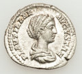 Ancients:Roman Imperial, Ancients: Plautilla, wife of Caracalla (died AD 212?). AR denarius(3.38 gm). ...