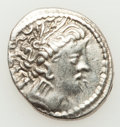 Ancients:Celtic, Ancients: NORTHERN ITALIAN CELTS. Lombard Plain. Ca. late 2ndcentury BC. AR light drachm (3.00 gm). ...