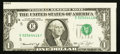 Error Notes:Miscellaneous Errors, Fr. 1908-E $1 1974 Federal Reserve Note. Choice About Uncirculated.. ...