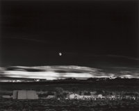 ANSEL ADAMS (American, 1902-1984) Moonrise, Hernandez, New Mexico, 1941 Gelatin silver, probably bet