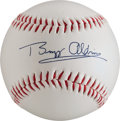 Miscellaneous Collectibles:General, Neil Armstrong and Buzz Aldrin Facsimile Signed Baseball - Scarce....
