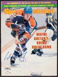 "Hockey Collectibles:Publications, 1982 Wayne Gretzky Signed ""Sports Illustrated"" Magazine...."