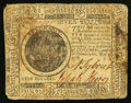 Colonial Notes:Continental Congress Issues, Continental Currency May 9, 1776 $7 Very Good.. ...